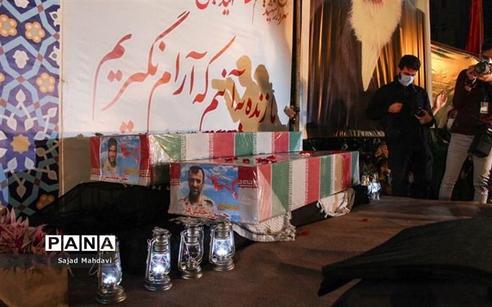 وداع با 5 شهید مدافع حرم مازندران