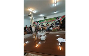 جلسه شورای برنامه ریزی سازمان دانش آموزی برخوار برگزار شد