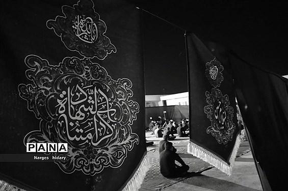 مراسم سوگواری شهادت امام رضا (ع)  پیامبراکرم(ص) و امام حسن مجتبی (ع)در شهرستان امیدیه