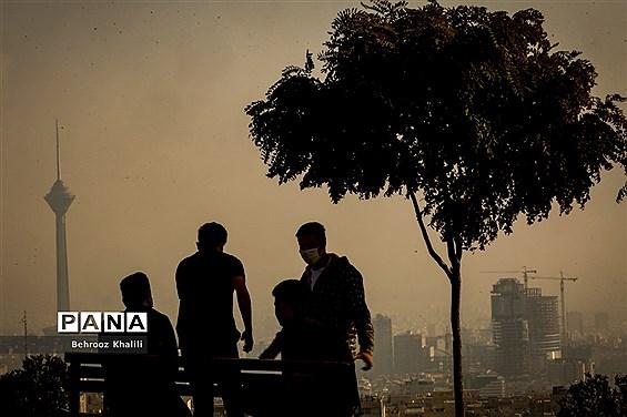 آلودگی هوا در تهران خلوت
