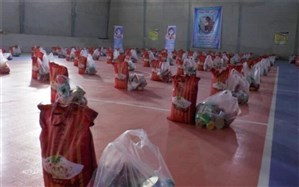 توزیع ۱۲۰۰ بسته معیشتی بین کارگران و اقشار آسیب پذیرشهرستان ملارد