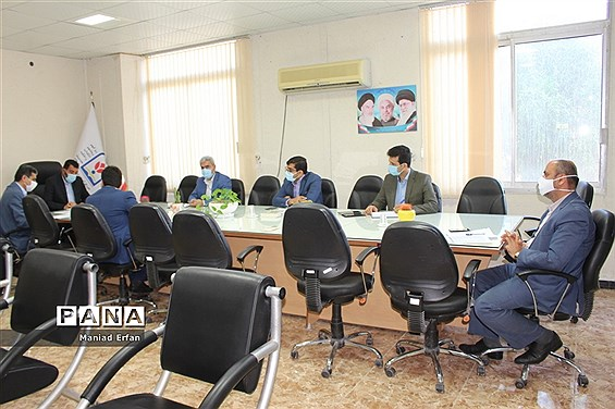 جلسه شورای اداری معاونت پرورشی و فرهنگی آموزش و پرورش استان بوشهر
