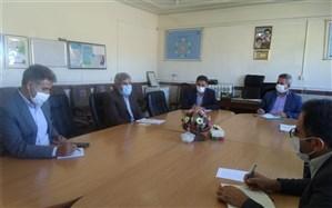 برگزاری جلسه تبیین وتوجیه بسته تحولی با حضورمدیرسازمان دانش آموزی استان درمنطقه زیویه