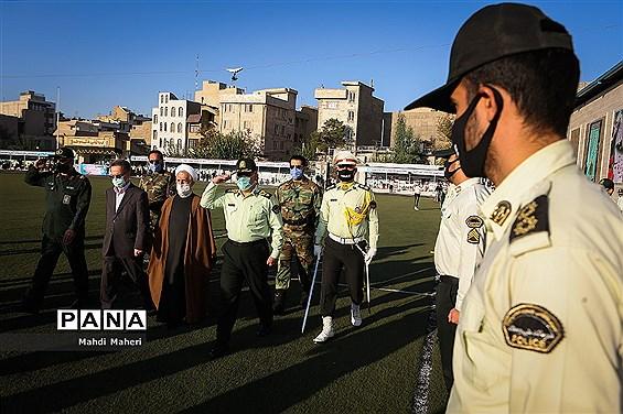 مراسم صبحگاه هفته نیروی انتظامی