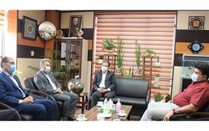 دیدار مدیر آموزش و پرورش منطقه5 تهران، با شهردار منطقه
