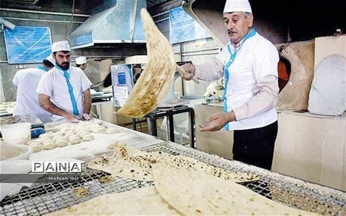 قیمت نان تا پایان امسال افزایش نمییابد