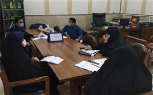 نخستین جلسه هماهنگی وبینار معاونین و مربیانتربیتی مدارس در شهرری