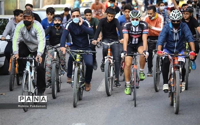 مسابقه دوچرخهسواری در ساری
