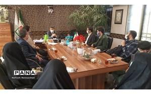 جلسه اعضای انجمن اسلامی با معاونت پرورشی و تربیت بدنی منطقه ۲