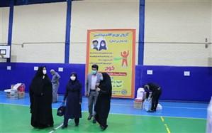اعزام کاروان توزیع اقلام بهداشتی به مناطق آموزشی آذربایجان غربی