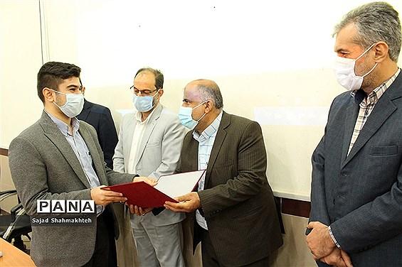 اولین نشست اعضای هیات رئیسه دهمین دوره مجلس دانشآموزی استان خوزستان