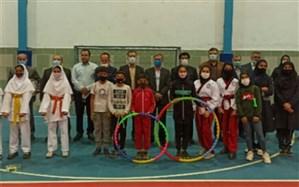 سالن ورزشی دانشآموزی بهنمیر افتتاح شد