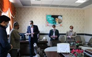 تقدیر از پیشکسوتان عرصه تربیت بدنی و سلامت آموزش و پرورش شهرستان فیروزه