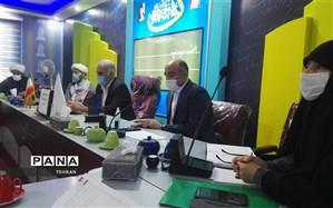 برگزاری جلسه مدیران و طلاب مدارس طرح امین در منطقه چهار
