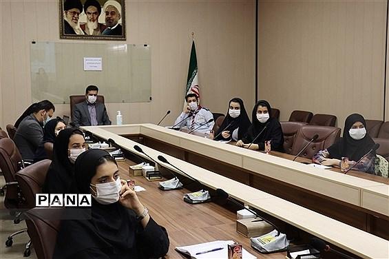 جلسه هم اندیشی کمیته های شورای دانش آموزی استان البرز