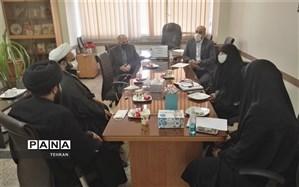 برگزاری جلسه ستاد فاطمیه در منطقه چهار