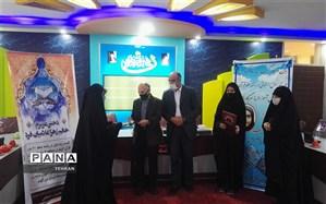 تجلیل از برگزیدگان مسابقات کشوری قرآن، عترت و نماز منطقه چهار