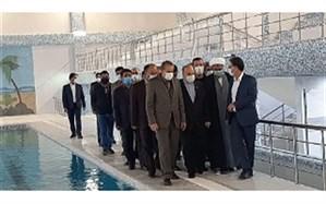 افتتاح اماکن ورزشی استان زنجان با حضور وزیر ورزش و جوانان همزمان با هفته تربیت بدنی و ورزش