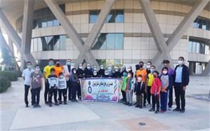 بزرگداشت روز ملی طنابزنی توسط دانشآموزان و ورزشکاران شهرقدس در برج میلاد