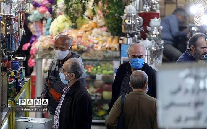 تهران در روزهای اجباری شدن ماسک