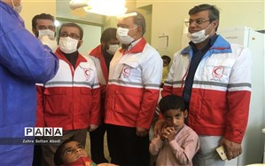 بهرهمندی حدود ۲۰ هزار نفر از خدمات بهداشتی و درمانی در طرح نذر آب ٣