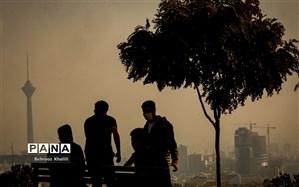 تشدید آلودگی هوای تهران طی امروز