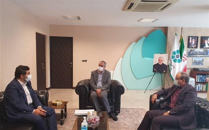 دیدار استانداراردبیل با مدیرعامل بانک توسعه و تعاون کشور