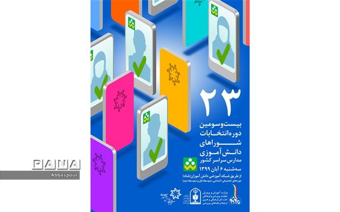 آغاز بیست و سومین دوره  انتخابات شورای  دانش آموزی در مدارس شهرستان بجنورد