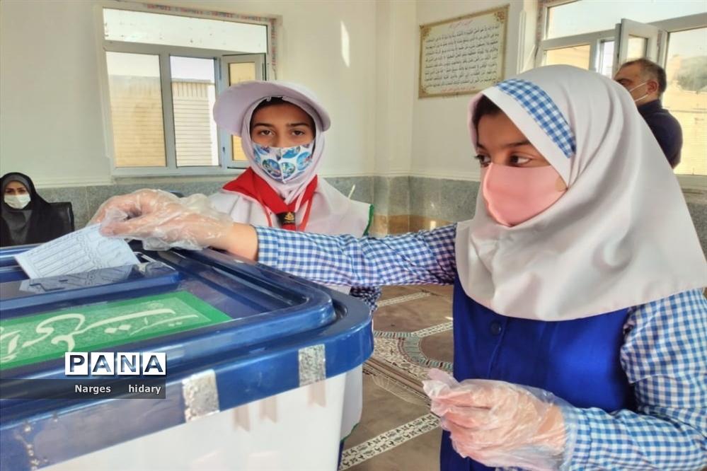 بیست و سومین دوره انتخابات شورای دانش آموزی در شهرستان امیدیه