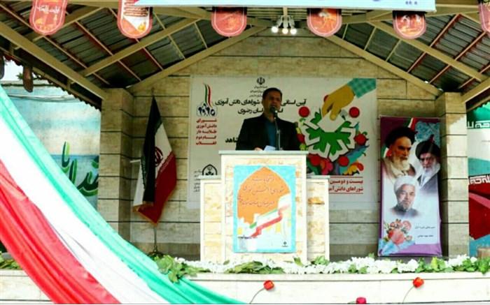 تقویت روحیه خودباوری و مشارکت جویی از اهداف مهم برگزاری انتخابات شوراهای دانش آموزی است