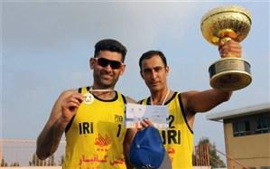 قهرمان تورملی والیبال ساحلی بندر ترکمن معرفی شد