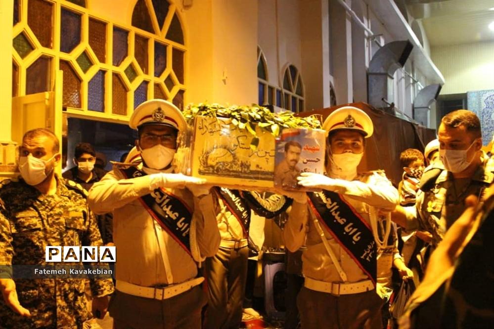 پیکر شهید راستگو در ساری تشییع و تدفین شد