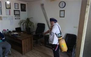 اقدامات اداره بهزیستی شهرستان ملارد در مقابله با بیماری کرونا