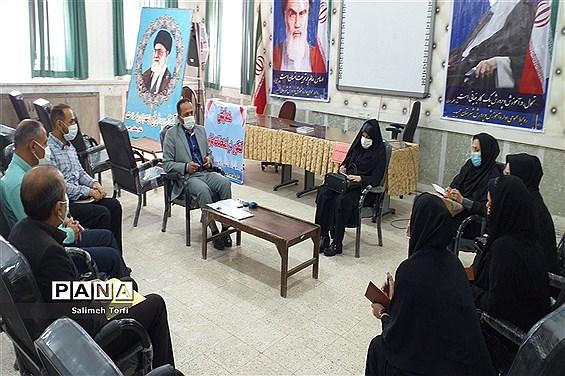 برگزاری جلسه سرگروه های ابتدایی درسالن اجتماعات اداره آموزش وپرورش شهرستان حمیدیه