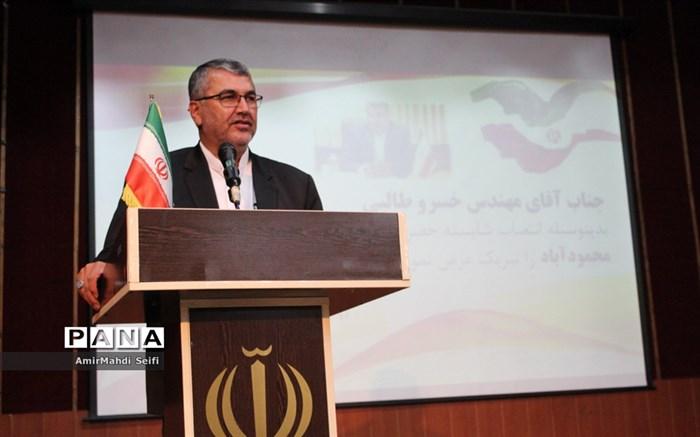 فرماندار جدید محمودآباد معارفه شد