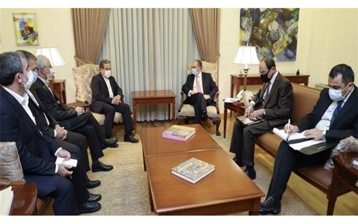 دیدار عراقچی با وزیر خارجه ارمنستان