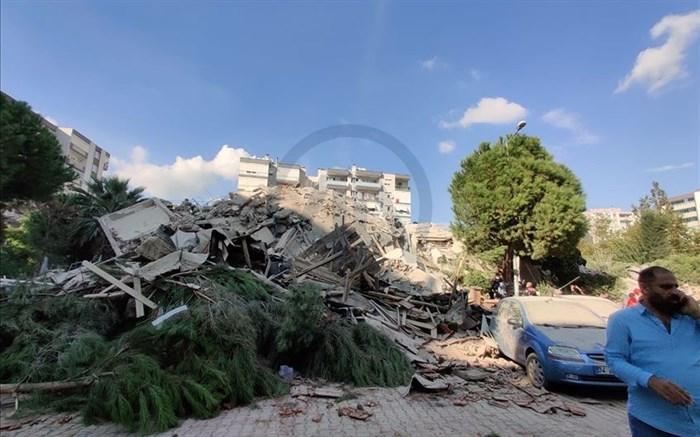 زمینلرزه 6.6 ریشتری در ازمیر