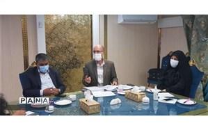 بازدید مدیر آموزش از راه دور وزارت آموزش و پرورش از روند اجرای طرح آشتی با آموزش در استان کرمان