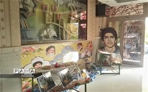 برگزاری نمایشگاه هفته بسیج دانش آموزی در منطقه چهار