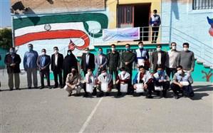 تقدیربسیج دانشآموزی از برگزیدگان طرح هجرت۳ در ملارد
