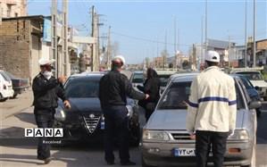 ممنوعیت تردد درجادههای  ۲۵ مرکز استان آغاز شد؛ جریمه ۵۰۰ هزار تومانی  در انتظار متخلفان