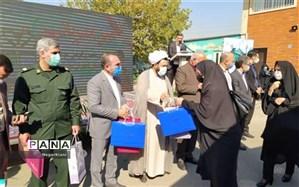 نخستین مرحله اهدای تبلت دانشآموزی در بخش کهریزک انجام شد