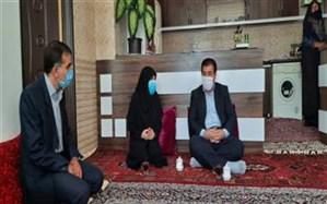 افتتاح واحد مسکونی مددجویی در بستان آباد