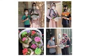 تبریک خلاقانه روز دانشآموز توسط معلم کازرونی