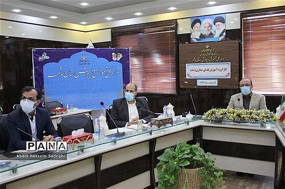 کار گروه آموزش فضای مجازی ( شاد ) استان بوشهر