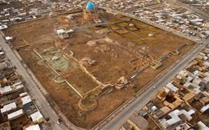 عملیات پایش مجموعه میراث جهانی گنبد سلطانیه آغاز شد