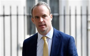 وزیر خارجه انگلیس به قرنطینه رفت