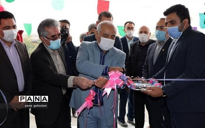 افتتاح دبستان روستای بصیرآباد شهرستان گمیشان بااعتباری بالغ بر10 میلیارد ریال