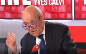 لودریان: فرانسه احترام عمیقی برای اسلام قائل است