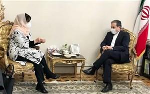 دیدار نماینده ویژه دبیرکل سازمان ملل در افغانستان با عراقچی